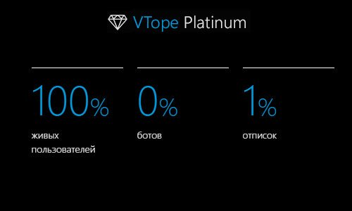 ВТопе Платинум - Превосходное качество