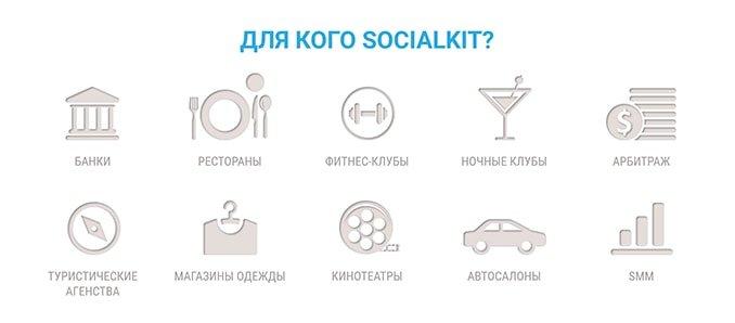 Для кого предназначена программа SocialKit