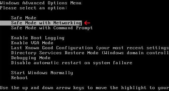 Безопасный режим в Windows 7 и Windows XP