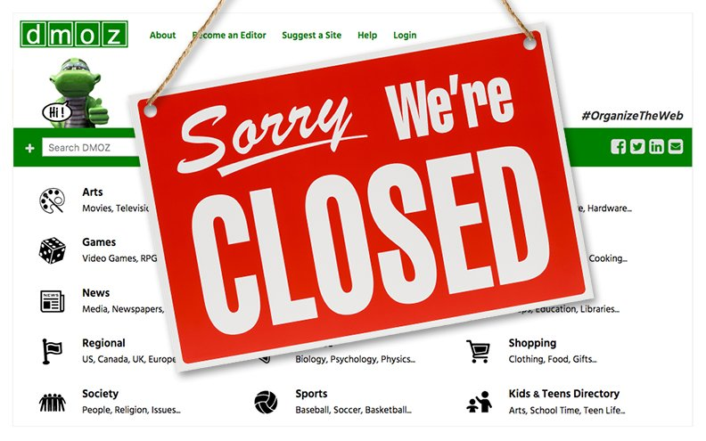 As of Mar 17, 2017, dmoz.org is no longer available