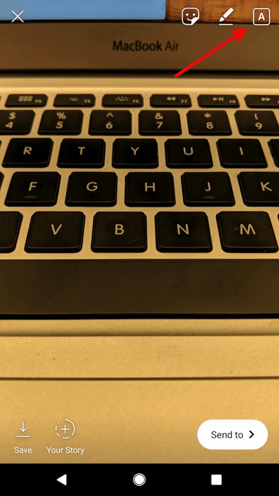 Как добавить текст для улучшения ваших сторис