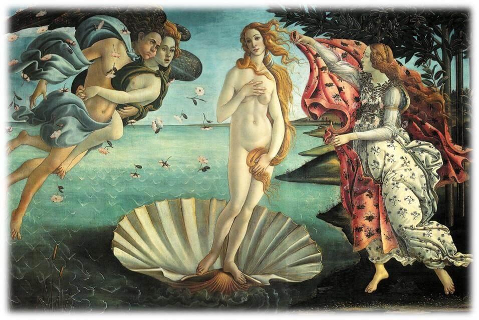 картина художника с обнажённой женщиной