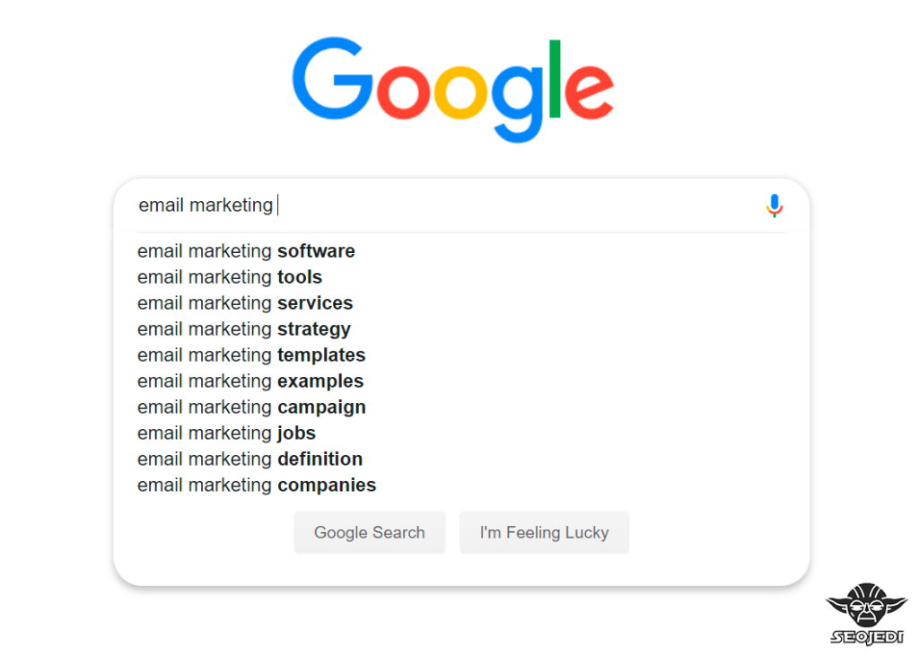 автозаполнение Google