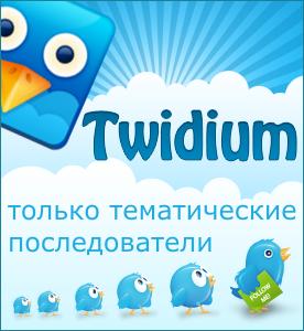 Twidium - умный массфолловинг