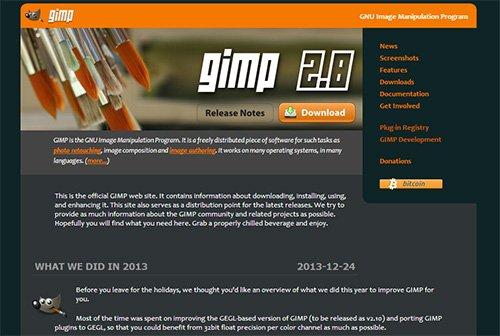 Gimp - программа для редактирования изображений