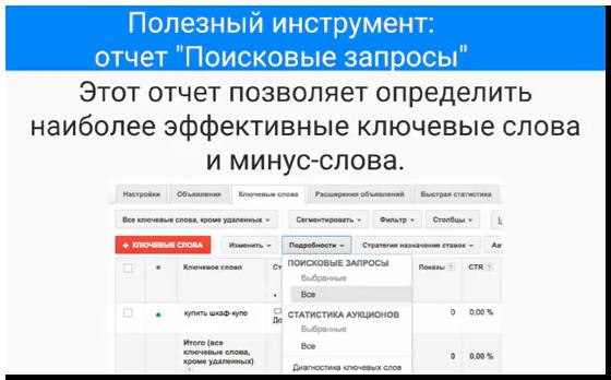 """Полезный инструмент - отчет """"Поисковые запросы"""""""