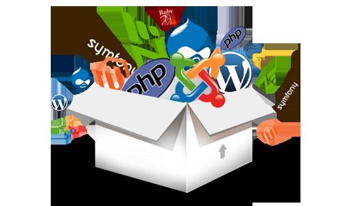 Движок для сайта - как определить